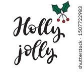 Holly Jolly. Merry Christmas...