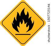 Flammable Materials Warning...