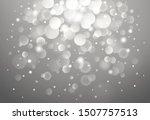 vector defocused bokeh lights....   Shutterstock .eps vector #1507757513