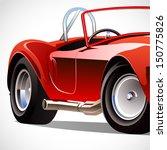vintage car | Shutterstock .eps vector #150775826