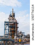view of big oil refinery of a... | Shutterstock . vector #150776114