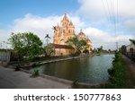 oid church  vietnam under sunny ... | Shutterstock . vector #150777863
