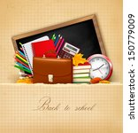 back to school.  background... | Shutterstock .eps vector #150779009