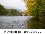 Autumn Landscape With An Old...