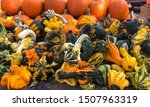 Variety Of Gourds For The...
