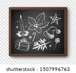 hand drawn black and white... | Shutterstock .eps vector #1507996763