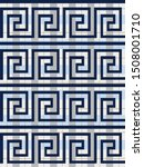 geometric checkered greek style ... | Shutterstock .eps vector #1508001710