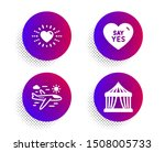 say yes  heart and airplane...   Shutterstock .eps vector #1508005733