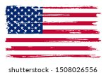 grunge united states flag...   Shutterstock .eps vector #1508026556