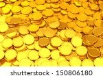 Gold Coins That Was Scattered
