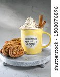 homemade cookies roll with nuts ...   Shutterstock . vector #1508076896