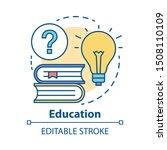 education concept icon.... | Shutterstock .eps vector #1508110109