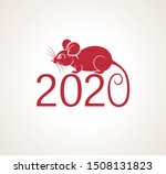 vector square banner new year... | Shutterstock .eps vector #1508131823