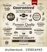 retro elements collection for... | Shutterstock .eps vector #150816443