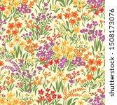seamlessly repeating little... | Shutterstock .eps vector #1508173076