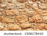 old weathered brick medieval... | Shutterstock . vector #1508178410