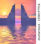 colorful sunset view on... | Shutterstock .eps vector #1508197916