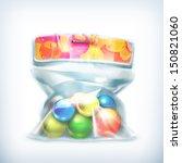 Balls In Small Plastic Bag ...