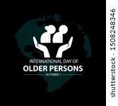 international day of older... | Shutterstock .eps vector #1508248346