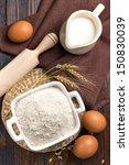 flour | Shutterstock . vector #150830039