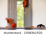 Home Entrance Decorated For...