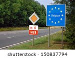 border between france and... | Shutterstock . vector #150837794
