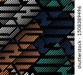 sports textile modern seamless... | Shutterstock .eps vector #1508389496