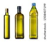 olive or sunflower oil glass... | Shutterstock . vector #1508407199