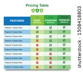 pricing table templet design....