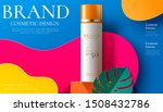 sunscreen spray product ads on...   Shutterstock .eps vector #1508432786