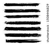set of grunge brushes.vector... | Shutterstock .eps vector #1508446829