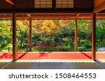 enkoji temple's garden in...   Shutterstock . vector #1508464553