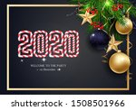holidays greeting card for... | Shutterstock .eps vector #1508501966