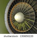 Jet Engine Intake Fan