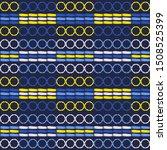 ethnic boho seamless pattern.... | Shutterstock .eps vector #1508525399