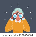 vector cartoon illustration of... | Shutterstock .eps vector #1508600609
