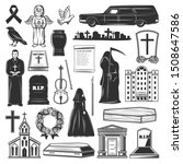 Funeral Icons And Symbols Of...