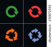4 arrow sign reset  reload ...