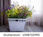 Bouquet Of Wildflowers In A...
