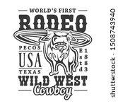 Cowboy Rodeo  American Western...