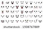 kawaii cute faces. manga style...   Shutterstock .eps vector #1508767889