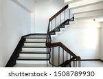 Concrete Stairs Are Wooden...
