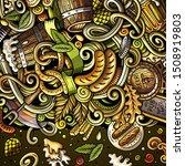cartoon cute doodles hand drawn ... | Shutterstock . vector #1508919803