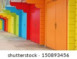 Colourful House Paint Wooden...
