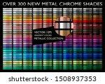new metal gradient. glossy... | Shutterstock .eps vector #1508937353