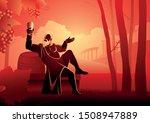greek god and goddess vector... | Shutterstock .eps vector #1508947889