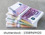euro currency money. cash money ... | Shutterstock . vector #1508969420