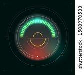 circular hud display gage... | Shutterstock .eps vector #1508970533