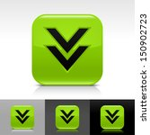 download arrow icon green color ...