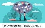 relationship vector...   Shutterstock .eps vector #1509027833